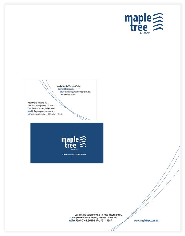 papelería Maple Tree