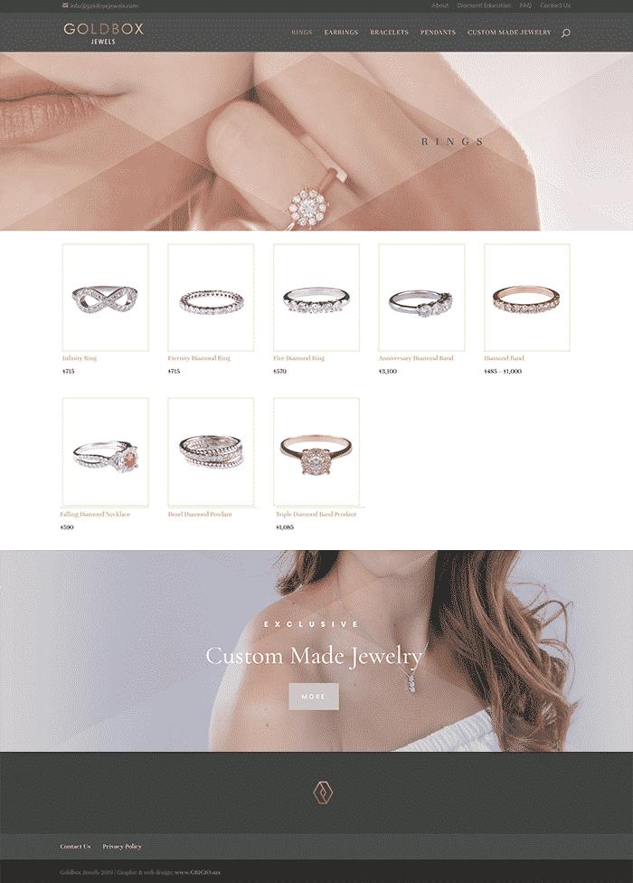 diseño de página de internet